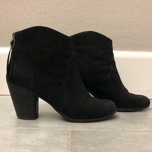 Nordstrom BP Trott Ankle Bootie Black 6.5